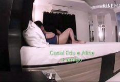 Casal Edu e Aline – Esposa namorando o comedor e o corno . Dando e chupando duas picas(parte 1)
