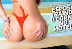 Esposa Infiel Traindo o Corno no Motel – Humilhando o Corno pela Webcam ROLEPLAY Cuckold and Wife